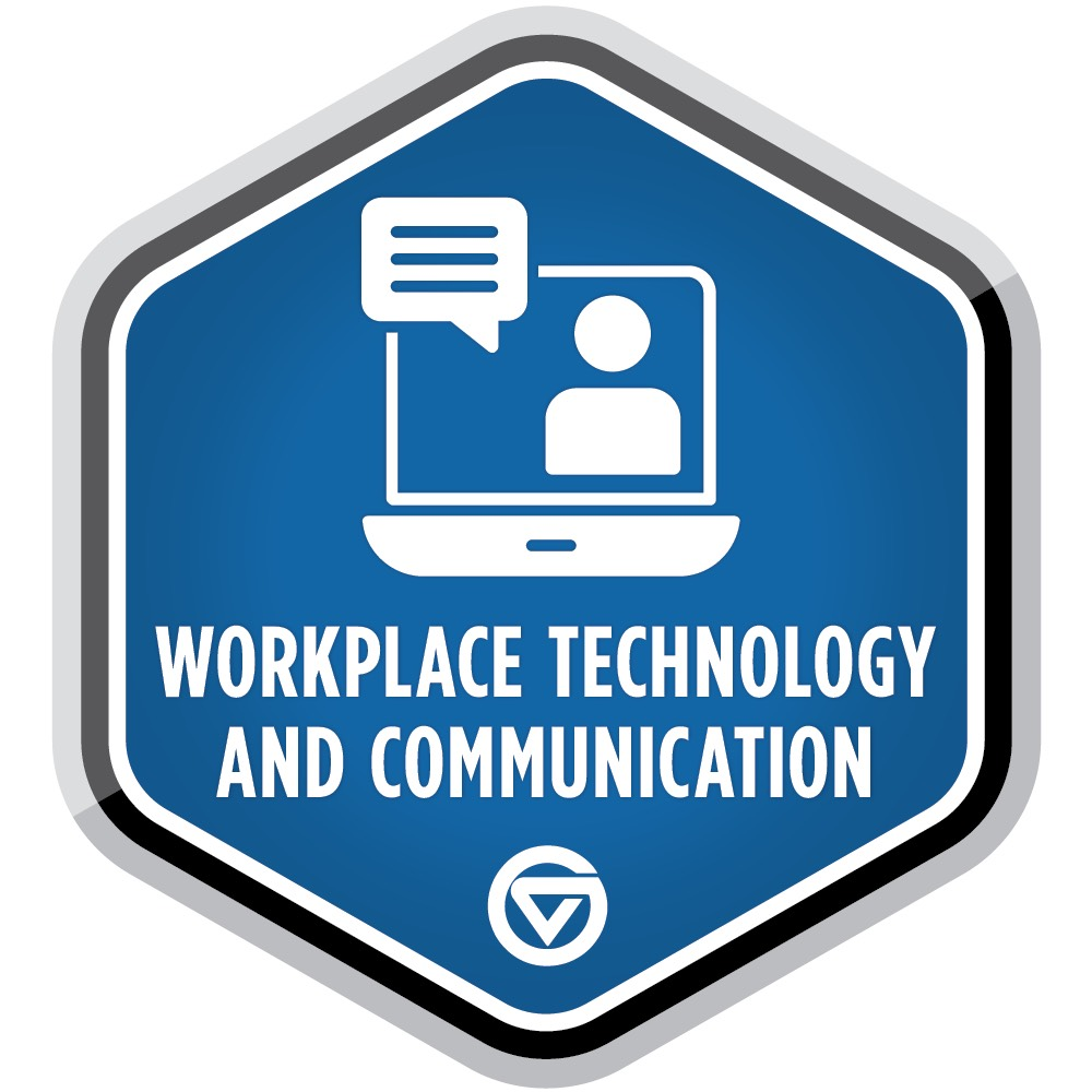 GVSU Workplace and Technology Badge